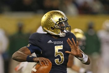 College Football Betting Matchup: Notre Dame Fighting Irish vs. Navy Midshipmen
