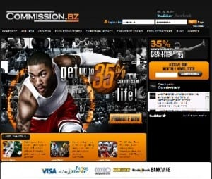 Commissionbz USA Online Sportsbook Casino Affiliate Program
