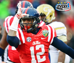 College Football Betting -- Ole Miss is #3, But Getting Points From Texas A&M
