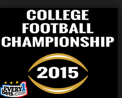cfb championship game odds for college football