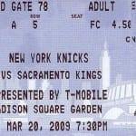 NY Knicks NBA Sports Betting