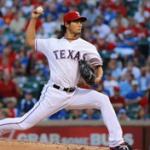 Yu Darvish Texas Rangers 2014