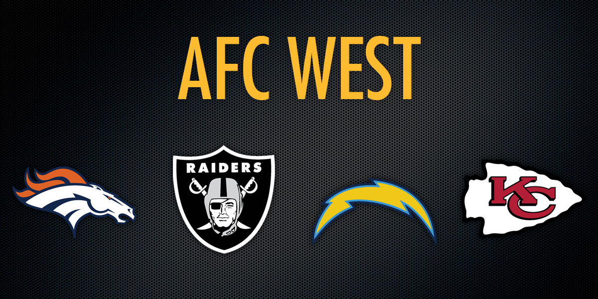 2018 AFC West Betting Preview | NFL Betting Apps & Sites