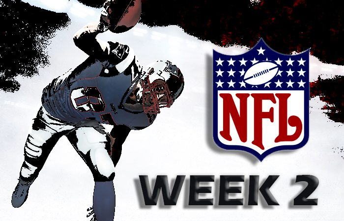 NFL Week 2 BetAnySports Betting Tip Sheet